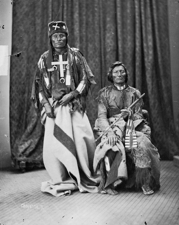 Little Wolf and Dull Knife, 1873