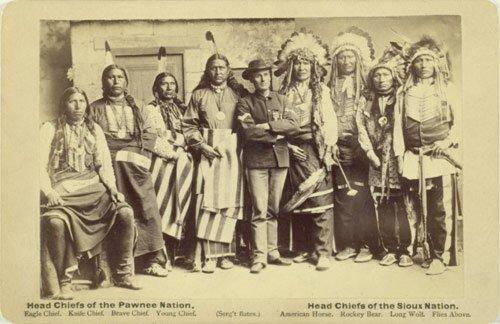 Head Chiefs of the Pawnee and Sioux Nations