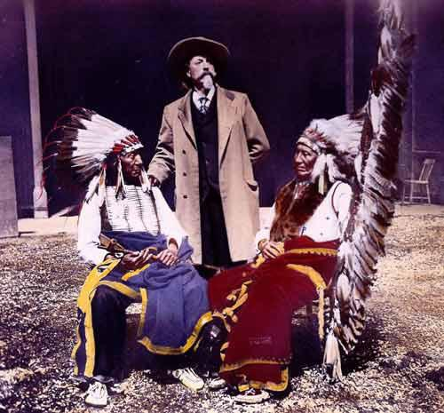 American Horse, Buffalo Bill, and Red Cloud, 1897, New York