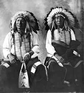 American Horse and Red Cloud, 1897