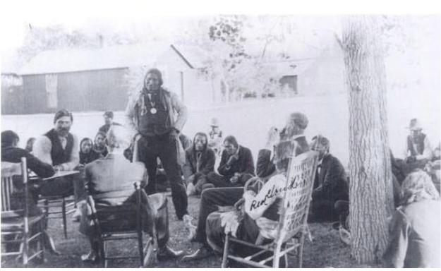 Tribal Council, Pine Ridge, 1903
