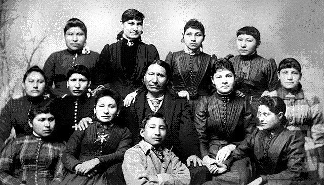 Carlisle Indian School Group Photo