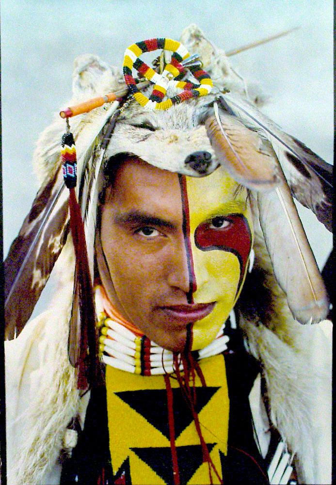 Lakota Face Paint