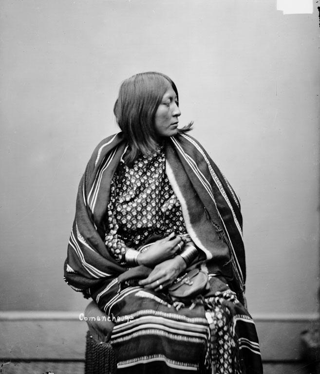 1872 Comanche Chief Ten Bears PHOTO,Native American Indian Yamparika